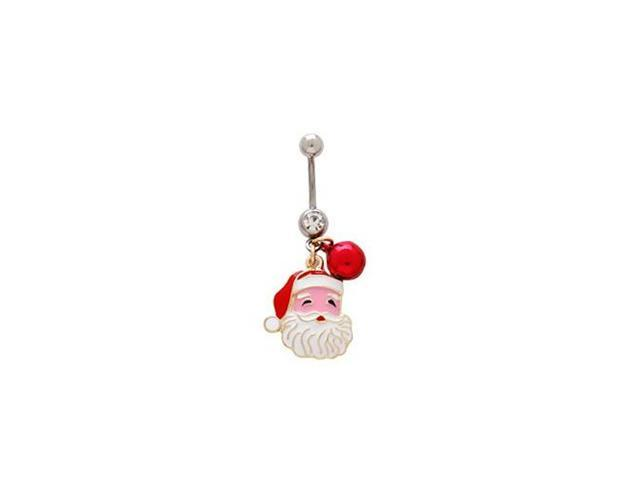 Santa Claus Belly Button Ring