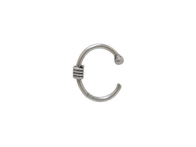 Non-piercing Sterling Silver Lip Clip