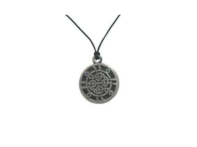 Celtic Knot Pendant Necklace with Cz Jewels