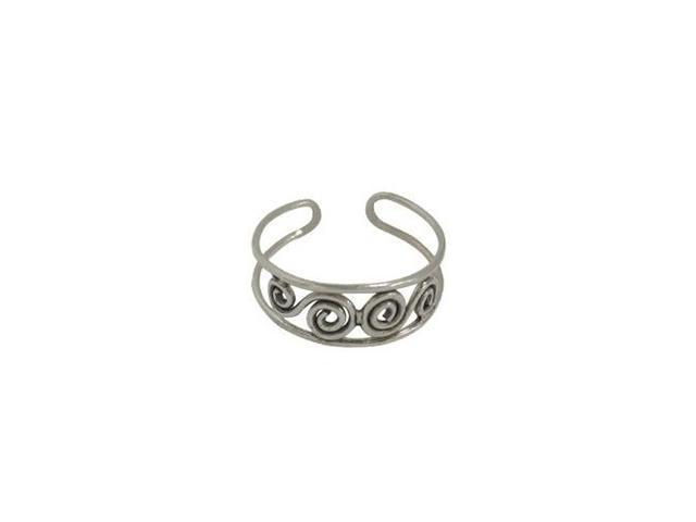 Sterling Silver Classic Design Toe Ring