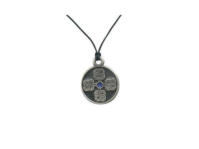 The Four Seasons Pendant Necklace with Blue Jewel