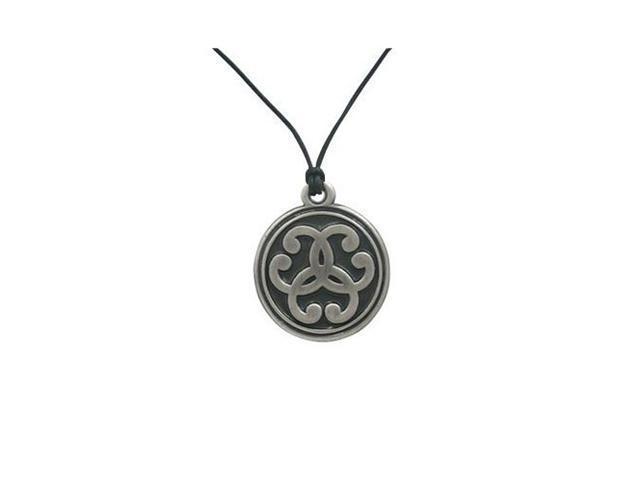 Clackham Shield Pendant Necklace Silver Plated