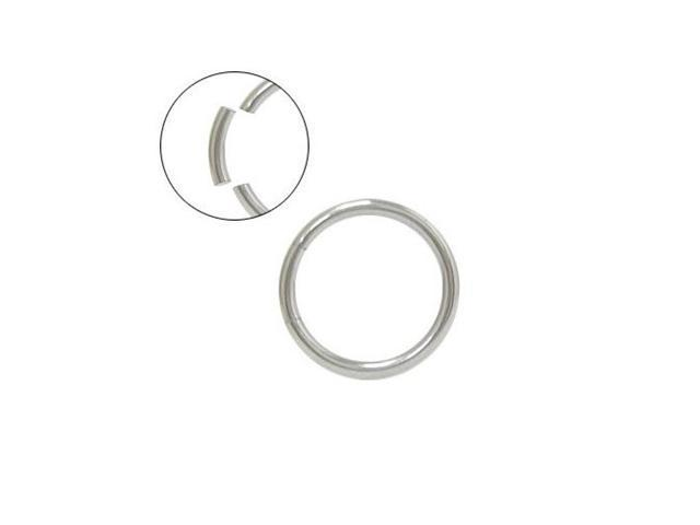 Surgical Steel Seamless Segment Ring - 14G 10mm