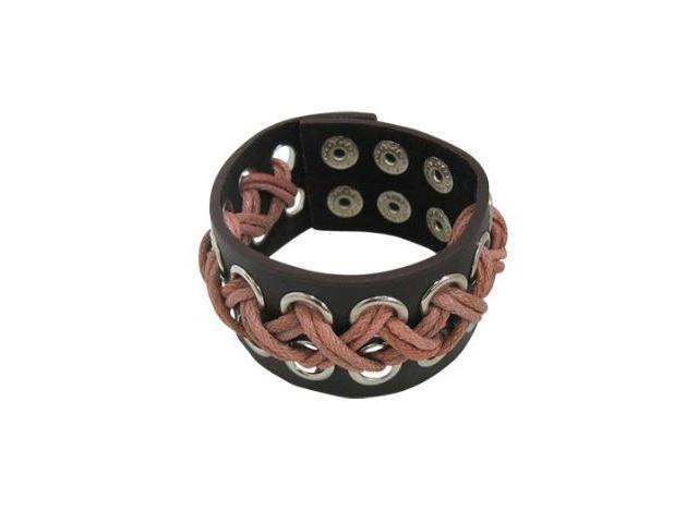 Unique Design Brown Leather Bracelet