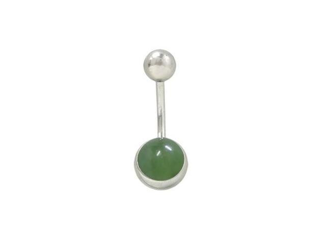 Belly Ring with Semi Precious Stone