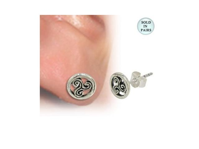 Ear Studs .925 Sterling Silver with Unique Design