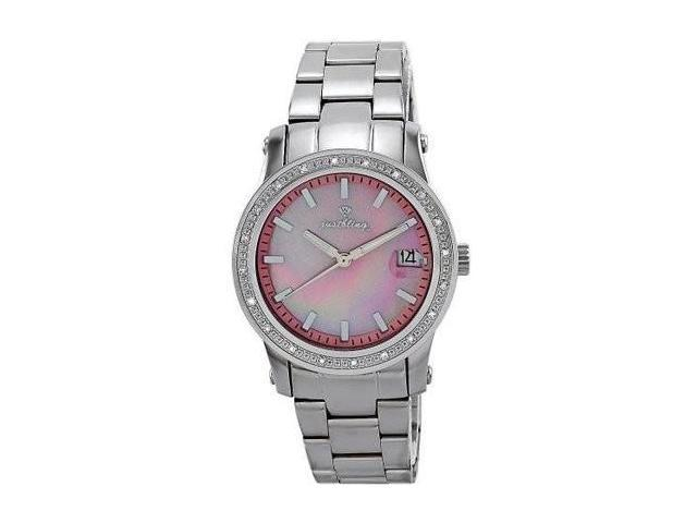 Just bling Ladies Pink 0.20CT Diamond Watch JB-6224-D