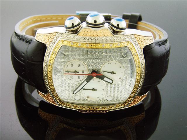 New Aqua Master Tri Tone Color 20 Diamonds watch