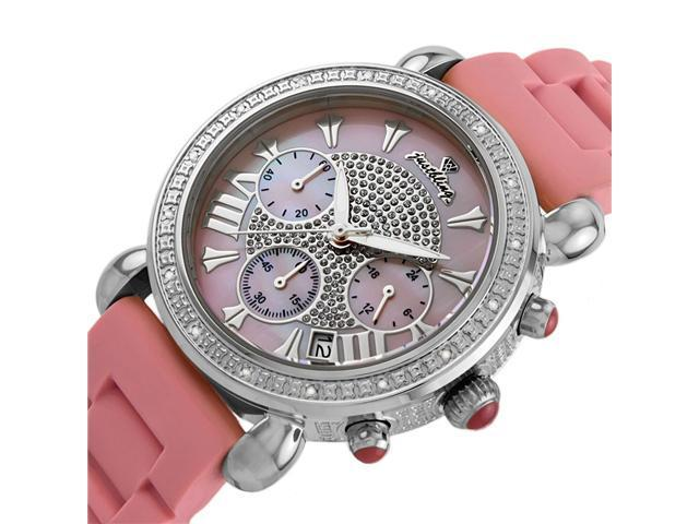 New Just Bling 0.20CT Diamonds watch JB-6242-C Pink