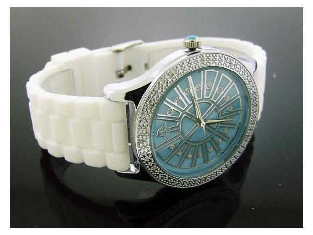 Ladies Techno Master 0.15CT Diamond Watch TM-2138 Blue