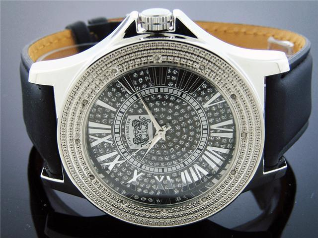 New 2011 Super Master by King Master 12 Diamonds Watch