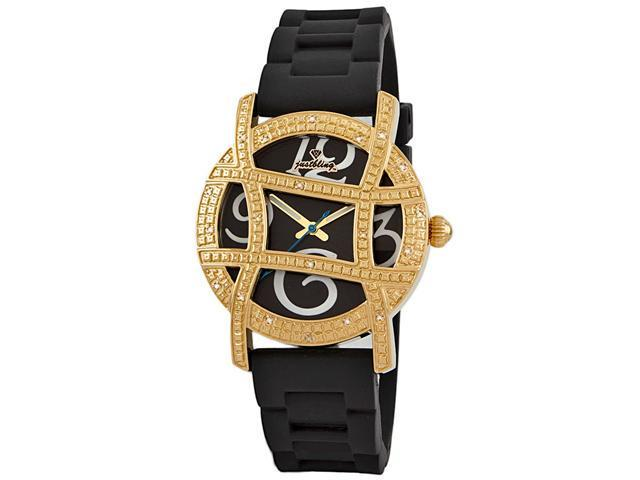 New Just Bling 0.20CT Diamond watch W/ Grill JB-6241-A