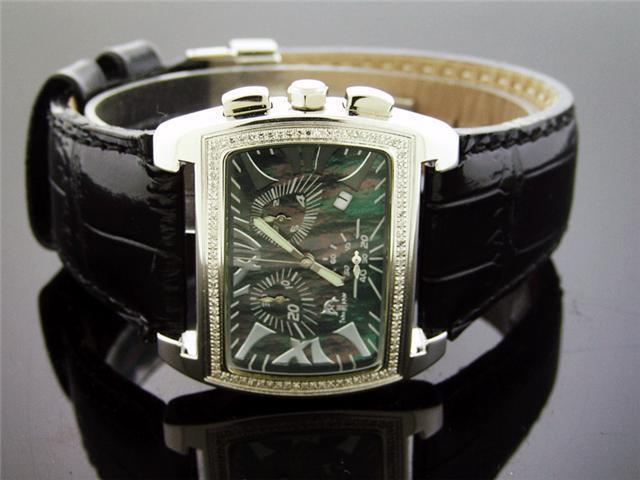Unisex Techno Master 0.60CT Diamonds Watch TM-2068