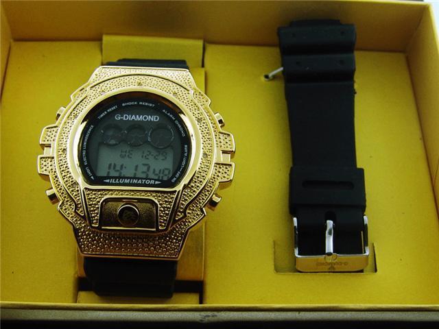 Men's G-Diamond II By Icetime 10 Diamond Sports watch