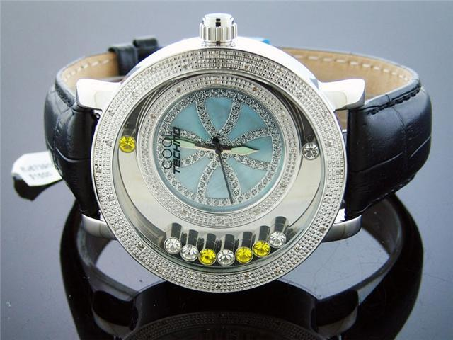 Cool Techno Watch 36 Diamond Stainless steel 49MM Watch