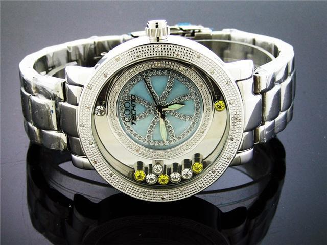 Cool Techno Watch 36 Diamond Stainless steel 49MM Watch