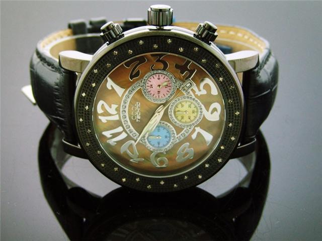 Cool Techno Watch 36 Diamond Stainless steel 47MM Watch
