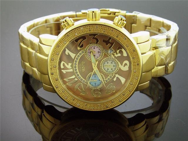 Cool Techno Watch 36 Diamond Stainless steel 47MM Watch