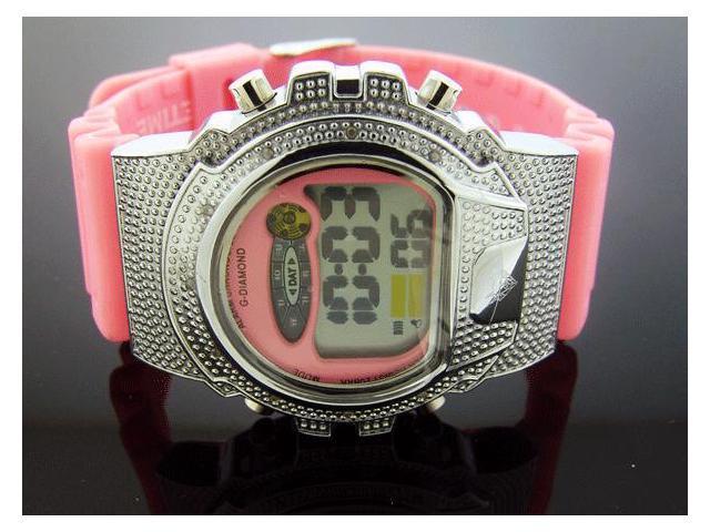 Ladies G-Diamond by Icetime 10 Genuine Diamond Watch