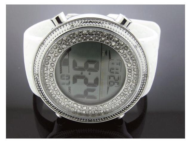 Diamond-5 By Icetime 47 MM10 Diamond Round Sports Watch