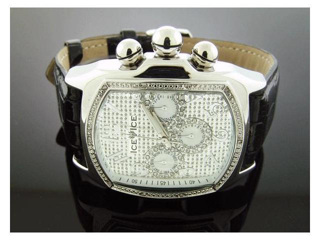 Ice Ice By Icetime 47/44 MM10 Diamond Bubble Loop Watch