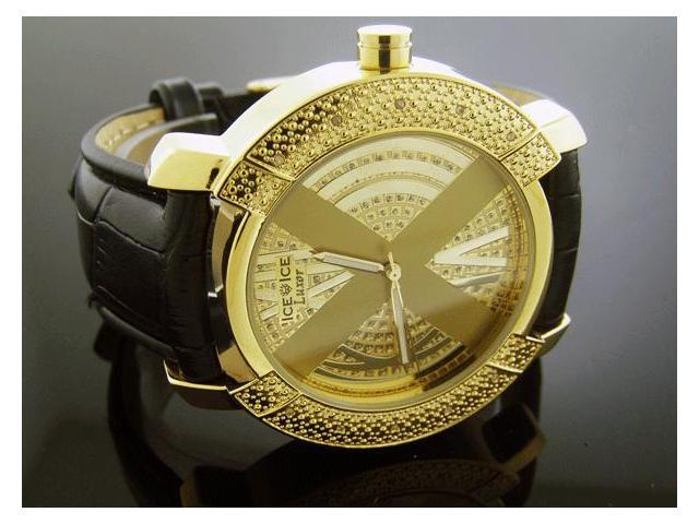 Ice Ice By Icetime 47 MM10 Diamond Yellow Gold Face