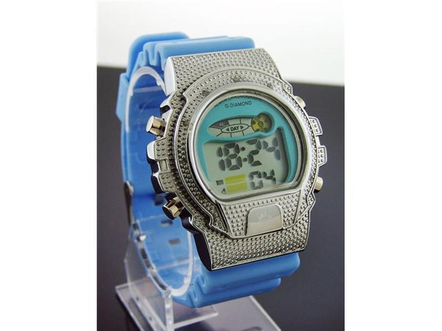G-Diamond by Icetime 10 Genuine Diamond Sports Watch