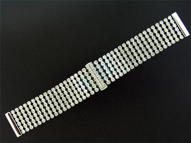 Men 24MM Wide 3.00CT Diamond Watch Band G/H SI Quality
