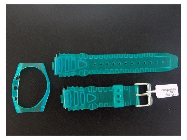 NEW! Aqua Master Plastic Sport Watch Band 17mm Wide