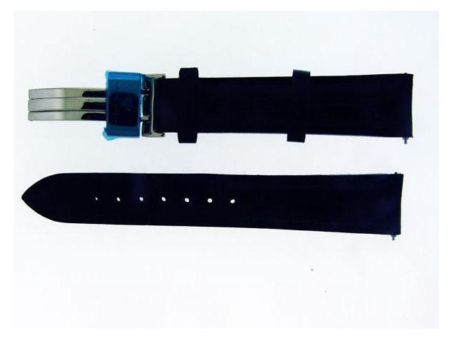 NEW AQUA MASTER ONE PIN 17 MM BLACK COLOR WATCH BAND