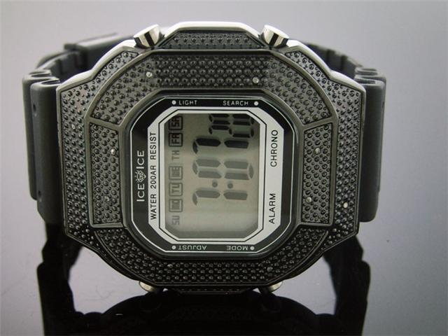 G-Diamond by Icetime 10 Genuine Diamond Sports Watch