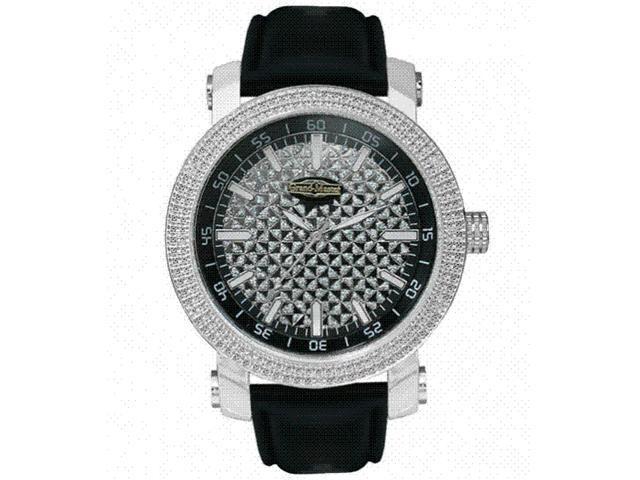 New Grand Master Round 12 Diamonds 50MM Watch GM1-22