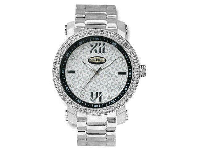New Grand Master Round 12 Diamonds 50MM Watch GM1-S10