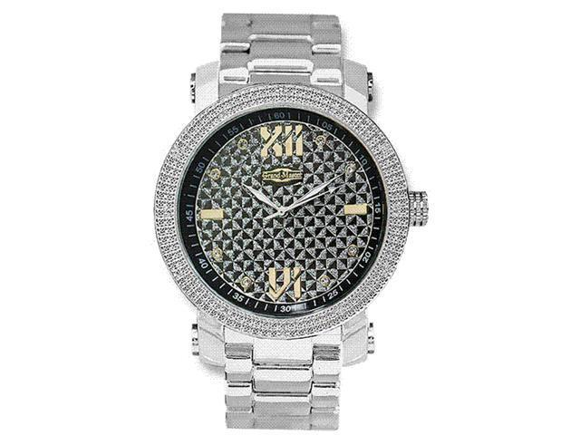 New Grand Master Round 12 Diamonds 50MM Watch GM1-SO4