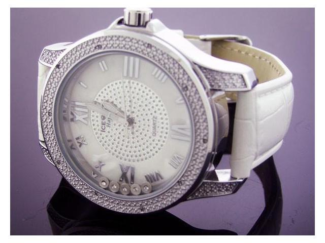 Ice Ice Happy By Icetime 47MM 10 Diamonds Watch