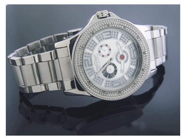 New King Master Round 12 Diamonds 50MM Watch