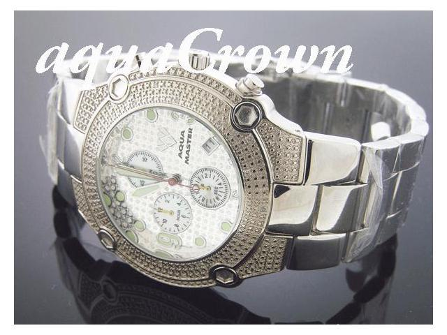 New Aqua Master 0.20CT Round Diamond Watch