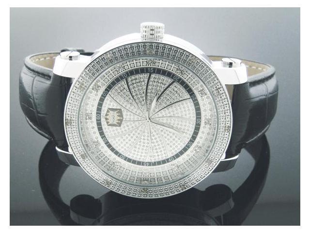 New Crown Master Round 12 Diamonds 50MM Watch