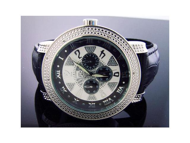 New Techno Master 12 Diamond Watch TM-2132 WHITE FACE