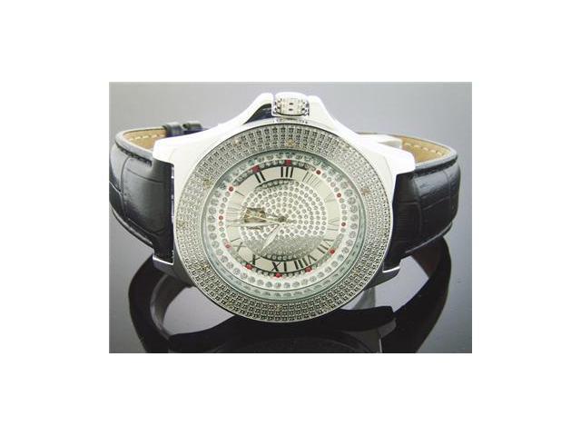 New Crown Master by KM Round 12 Diamonds 50MM Watch