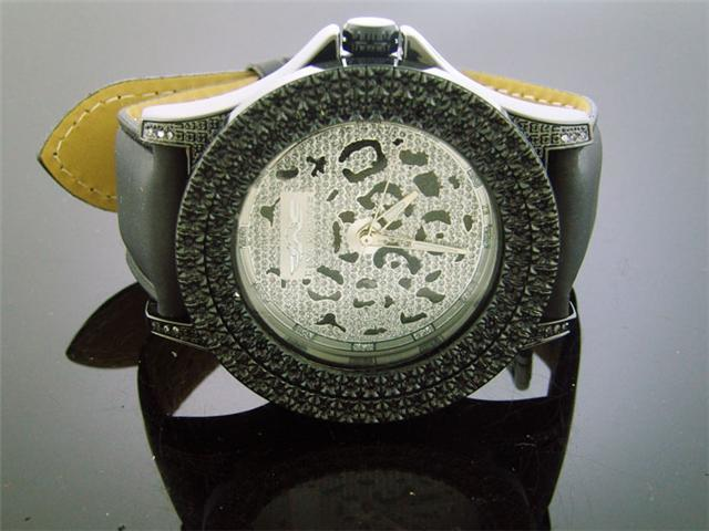 King Master 50MM 12 Diamonds watch Black Case