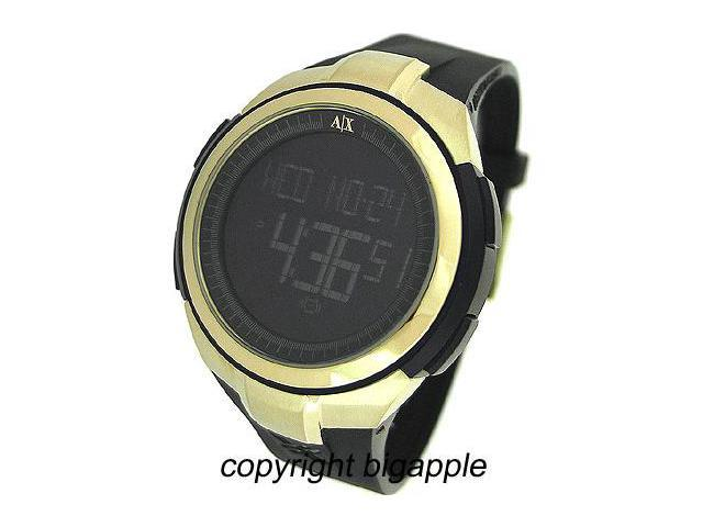 Armani Exchange Digital 50M Rubber Ladies Watch AX5018