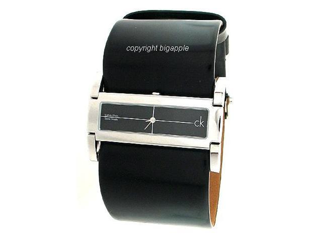 Calvin Klein Black Leather Mens Watch K4423102
