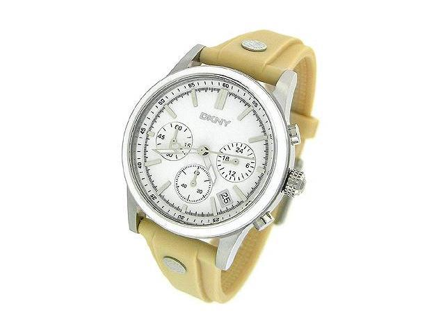 Dkny Chronograph Rubber 50M Ladies Watch NY8174