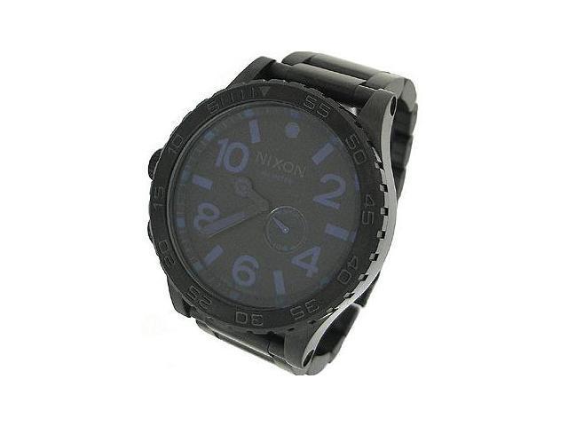 Nixon Black Stainless Steel 300M Mens Watch A057 714