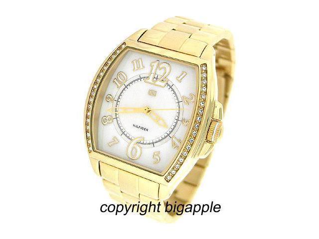 Tommy Hilfiger Crystal Gold Tone Ladies Watch 1780921