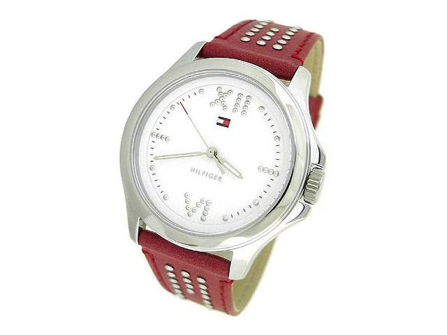 TOMMY HILFIGER LEATHER STRAP LADIES WATCH