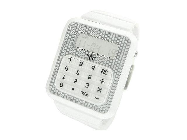 Adidas Originals Digital White Dial Unisex Watch #ADH4057