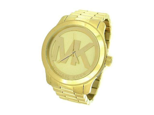 Michael Kors Quartz Gold-tone Bracelet Champagne Dial Ladies Watch MK5473