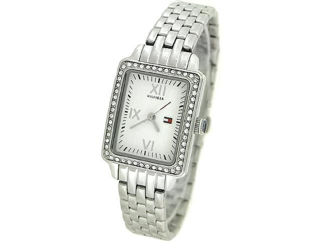 TOMMY HILFIGER CRYSTAL STAINLESS STEEL LADIES WATCH